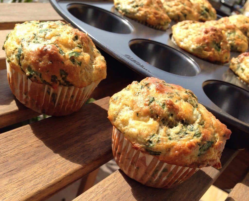 muffins cheddar-epinard 2