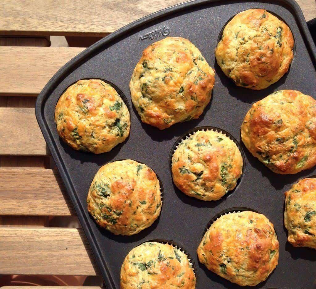 muffins cheddar-epinard 3