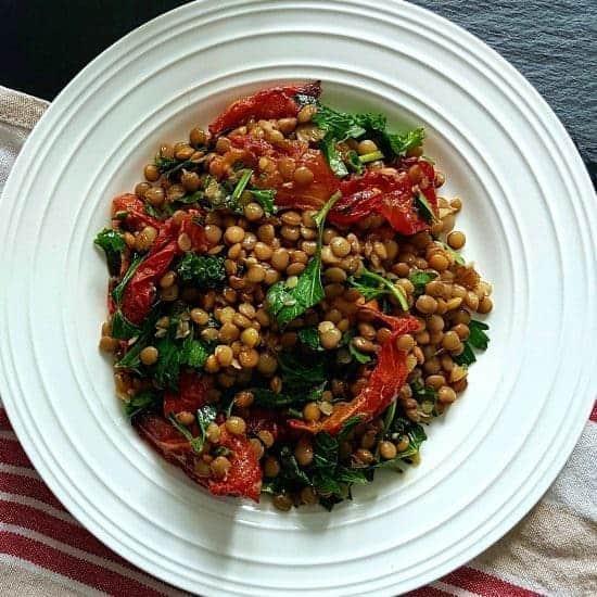 Salade de lentilles caroline cloutier nutritionniste - Cuisiner lentilles seches ...
